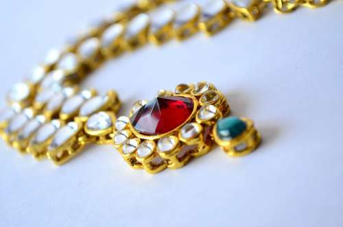 Necklace Jewelry Gold Luxury Fashion Beauty