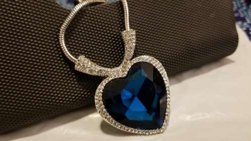 Necklace Jewellery Pendent Titanic Ocean Heart