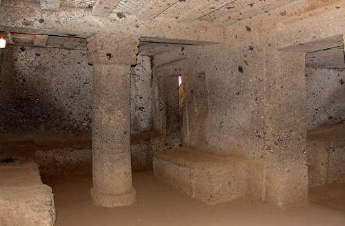 Necropolis Grave Italy Etruscan