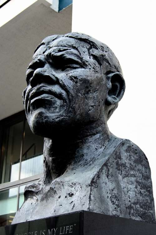 Nelson Mandela Statue London Monument Revolutionary