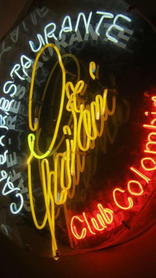 Neon Neon Sign Ad Neon Lights