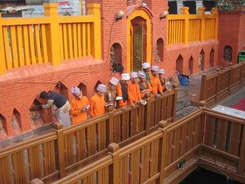 Nepal Culture Hindu Puja Religion Pray