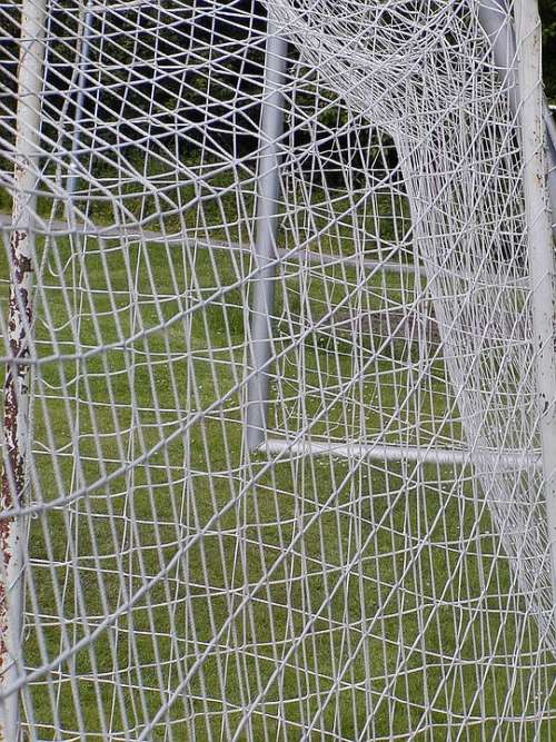 Network White Thick Regular Shape Goal Football