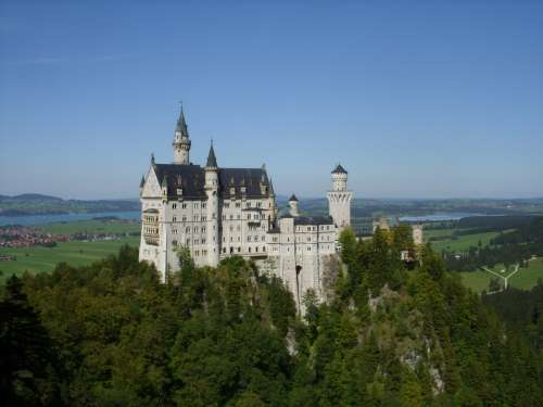 Neuschwanstein Castle Fairy Castle Castle