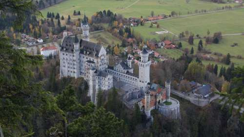 Neuschwanstein Castle Germany Castle