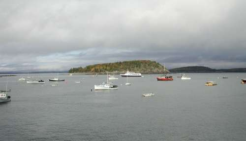 New England Water Sea Ocean Boats Ships