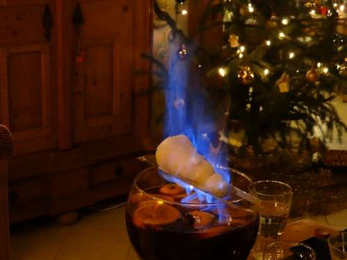 New Year'S Eve Feuerzangenbowle New Year'S Day Drink