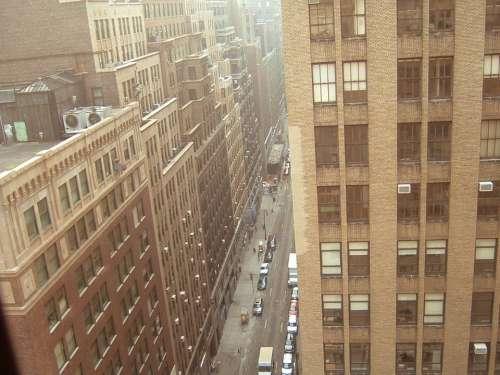 New York Windows Buildings Exterior