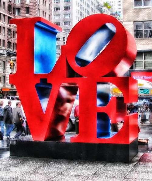 New York City Sculpture Cities Buildings Urban