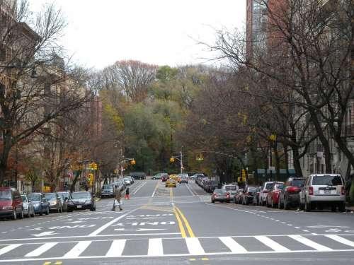 New York City Columbus Avenue Cities Urban
