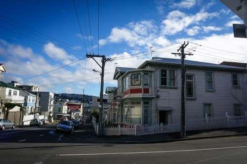 New Zealand Wellington Road Train Road Center City