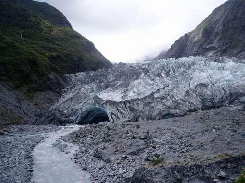 New Zealand North Island Franz Josef Glacier