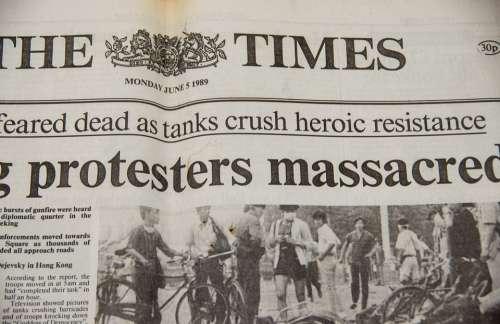Newspaper Historic Front Page Photos Headline