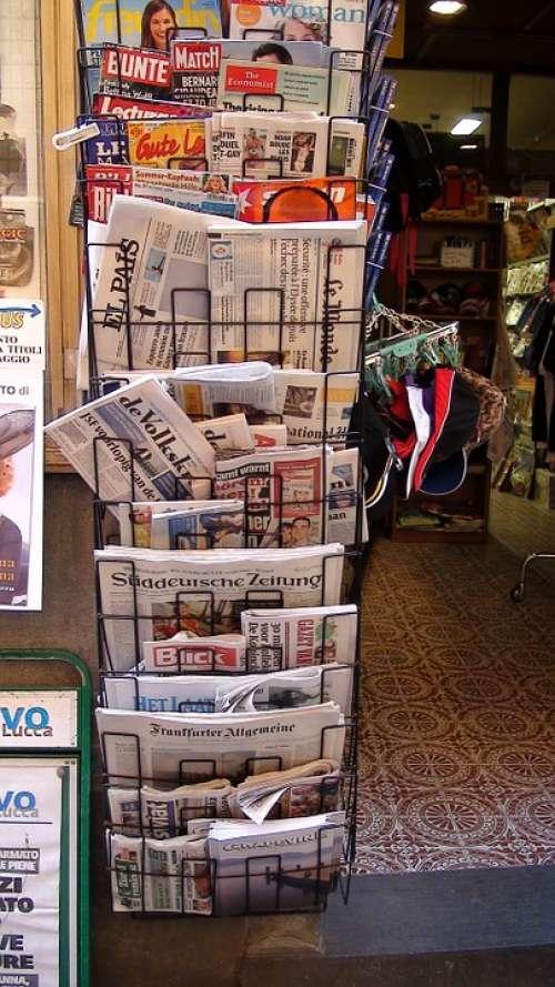 Newspaper Newspapers News News Message Read