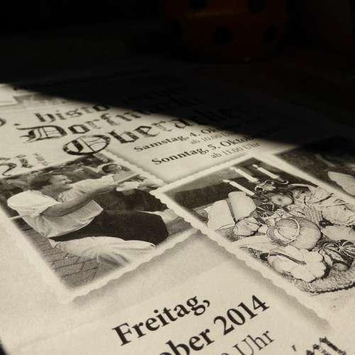Newspaper Magazine Text Black And White Journalism