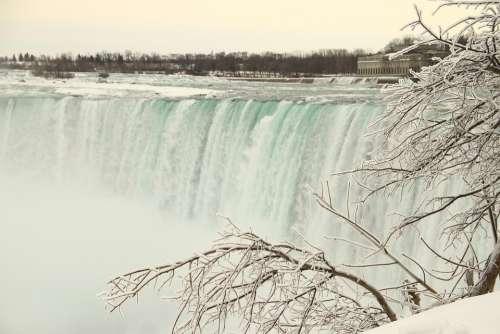 Niagara Falls Frozen Niagara Falls Canada