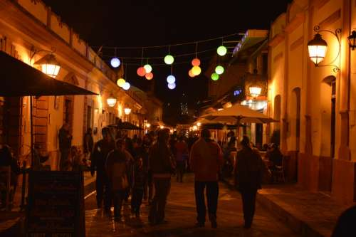 Night Street San Cristobal People Festival