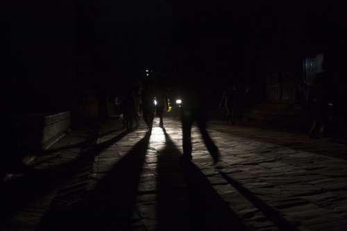 Night Shadow Creepy Ghostly Frightening Scary
