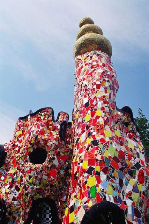 Niki De Saint Phalle Art Artist Sculpture Tuscany