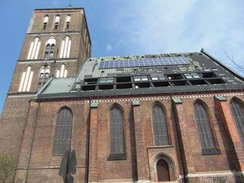 Nikolai Church Rostock Hanseatic League