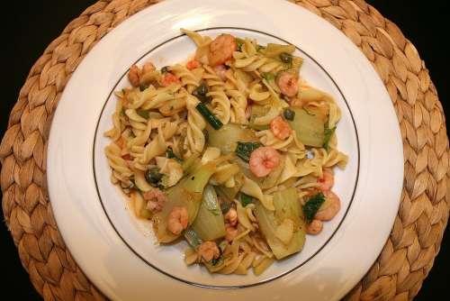 Noodle Dish Food Court Main Course Cook Eat