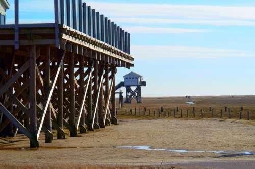 North Sea Wadden Sea Nordfriesland Watts