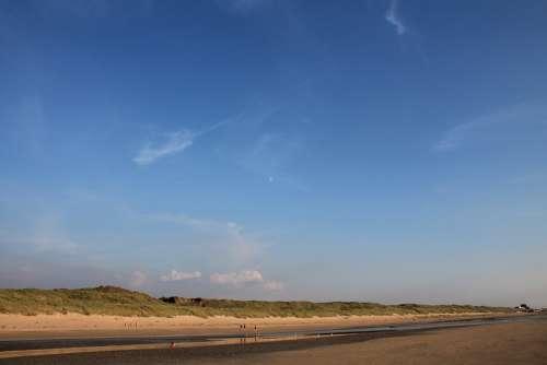 North Sea Beach Holland Vacations Coast Sand Beach