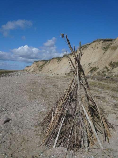 North Sea Bluff Denmark