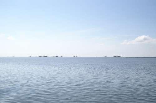 North Sea Halligen Nordfriesland Sea
