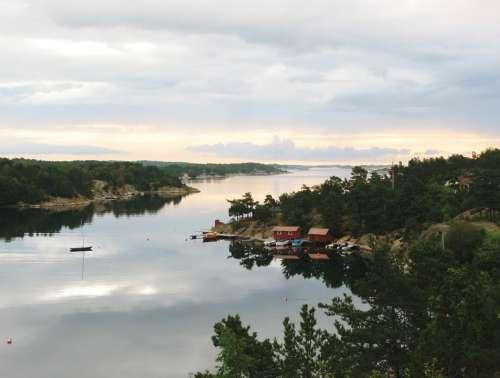 Norway Scandinavia Homborsund Aust Agder Fjord
