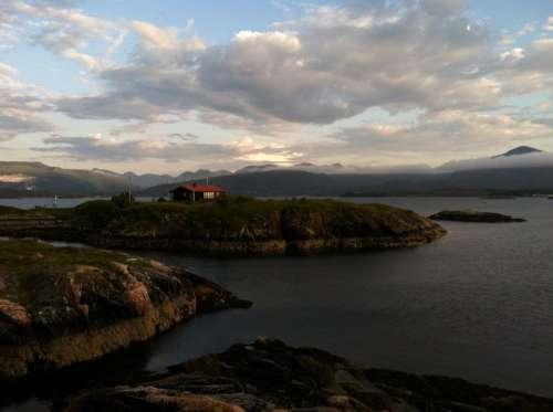 Norway Island Isolated Scandinavia Picturesque