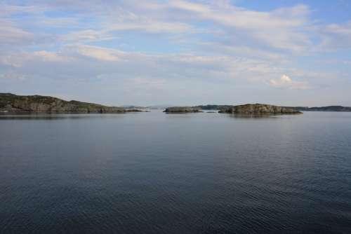Norway Sea Ocean Fjord Europe Scandinavia