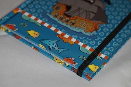 Notebook Boy Child Children Pirate Maritime Book