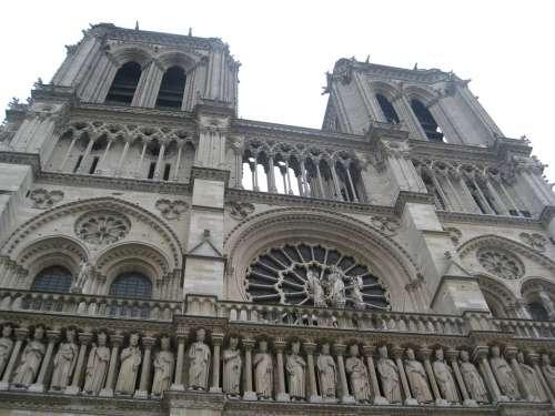 Notre Dame Cathedral Paris France Architecture