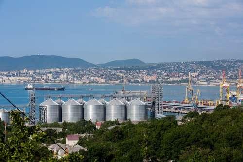 Novorossiysk Sea Black Sea Port City Bay