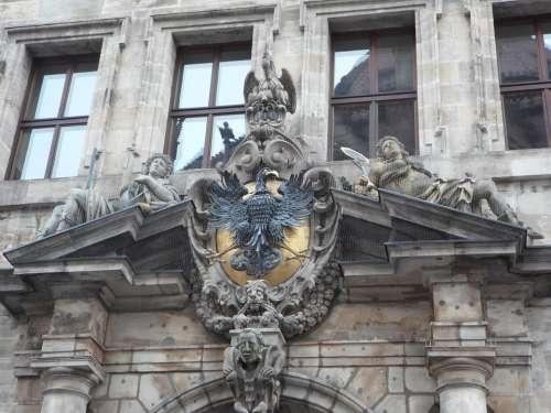 Nuremberg Town Hall Old Building Input Portal