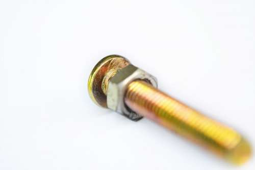 Nut Screw Bolt Hardware Metal Nail Carpentry