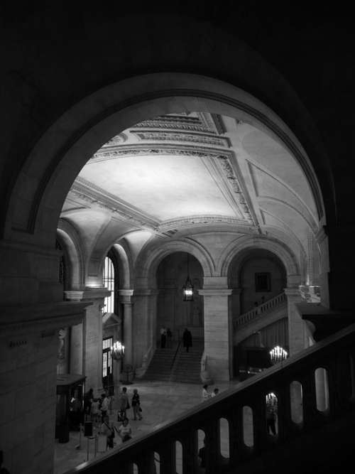 Nyc Public Library Library Architecture