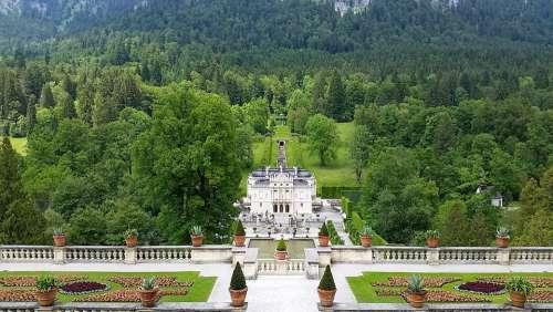 Nymphenburg Palace Castle Munich Nature Bavaria