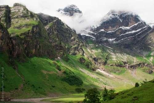 Oberblegisee Switzerland Mountain Bergsee