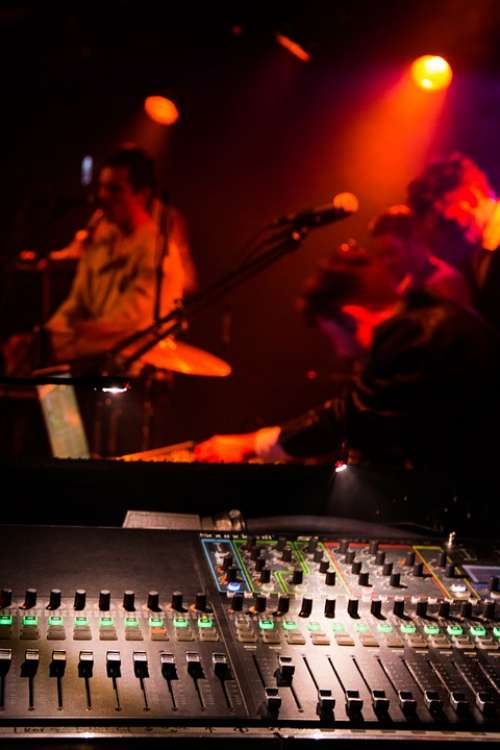 Occur Band Mixing Console Sound Sound Engineer