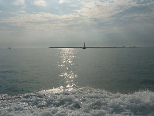 Ocean Boat Water