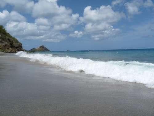 Ocean Wave Waves Beach Water Flowing Sea Outside