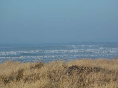 Ocean View Ship Mist Sea Ocean Water Beautiful