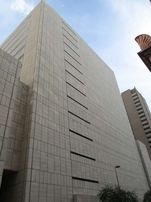Office Building Downtown Dallas Texas Business