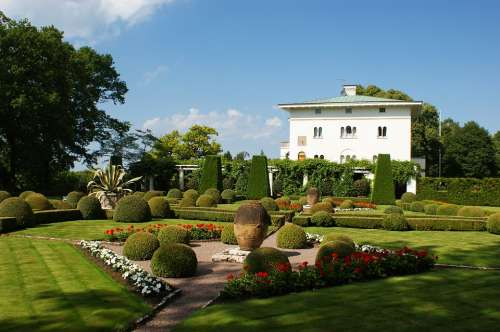 Oland Summer Castle Sollidenvägen Park Garden