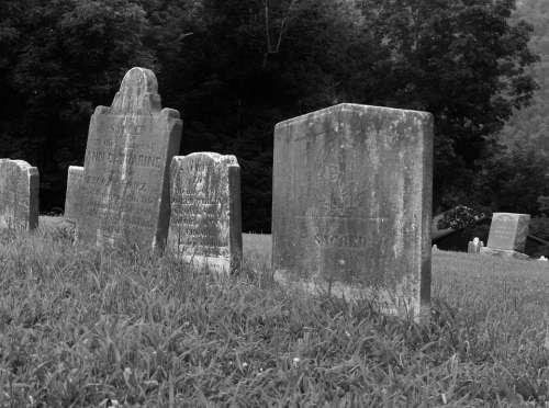 Old Tomb Grave West Virginia Civil War Harper