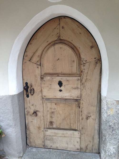 Old Door Wood South Tyrol
