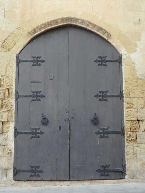 Old Door Old Goal Fittings Portal Input Gate