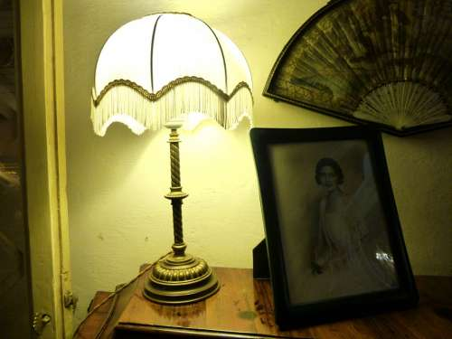 Old Fashioned Romantic Lamp Light Antique